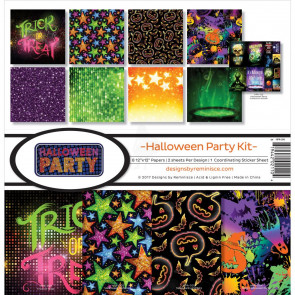 "Reminisce Collection Kit 12x12"" - Halloween Party Kit"