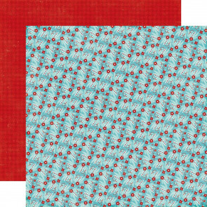 "Echo Park A Perfect Winter Double-Sided Cardstock 12x12"" - Winter Berries"