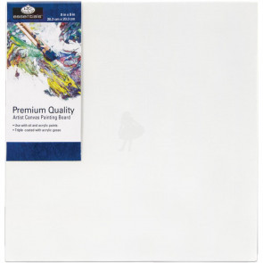 Essentials™ Premium Canvas Board 8x8""