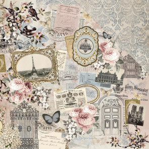 "KaiserCraft Romantique Double-Sided Cardstock 12x12"" Parisian"