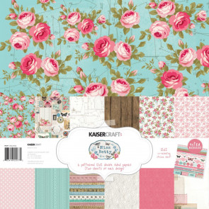 "KaiserCraft 12x12"" Papir Pakke, Miss Betty"