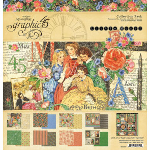 "Graphic 45 Collection Pakke 12x12"" Little Women"