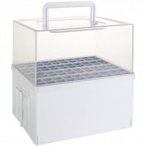 Deflecto Expandable Marker Accordion Organizer White/Clear