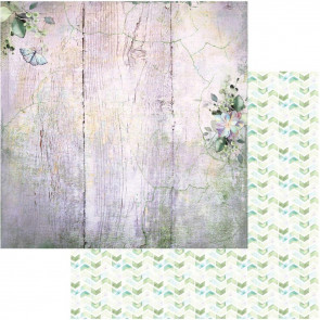 "49 and Market Serendipitous Double-Sided Cardstock 12x12"" Misty Breeze"