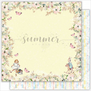 Summer-Studio My Honey Bunny 30,5x30,5 cm Dobbeltsidet Cardstock - Imaginarium