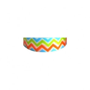Washi Tape 15mm - Zig Zag Colorful Chevron