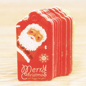 Beyond Visions Paper Label Tags - Merry Christmas Julemand