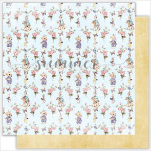 Summer-Studio My Honey Bunny 30,5x30,5 cm Dobbeltsidet Cardstock - Bunnies