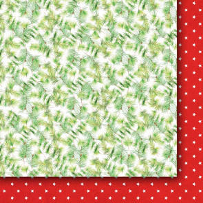 "Galeria Papieru A Christmas Tree Dobbeltsidet Cardstock 12x12"" Paper - Design 01"