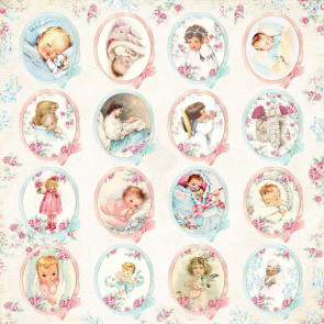 "Craft & You Scrapbooking Ark 12x12"" Shabby Baby 7"