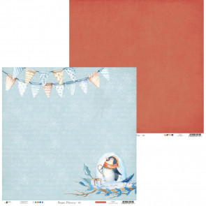 "Piatek13 North Pole 12x12"" Scrapbooking Paper Set m. Stickers"