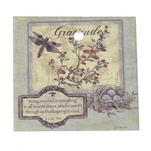 Paper Label Tags - Dragonfly