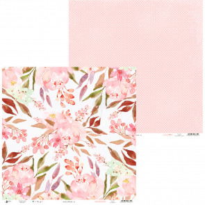 "Piatek13 Love In Bloom Double-Sided Cardstock 12x12"" Design 1"