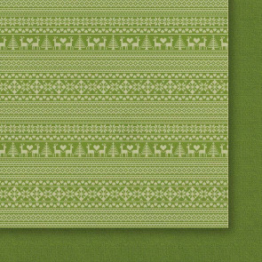 """Galeria Papieru Christmas Eve In The Fores Dobbeltsidet Cardstock 12x12"""" Paper - Design 01"""