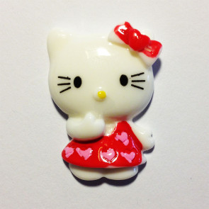 Beyond Visions Resin Pynt - Hello Kitty