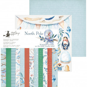 "Piatek13 North Pole 12x12"" Scrapbooking Paper Pad"