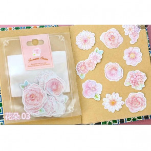 Paper Stickers 70 stk - Flowers