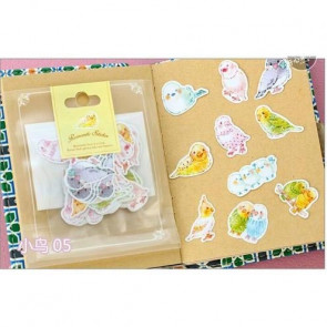 Beyond Visions Frost Seal Paper Stickers Undulater, 10 stk