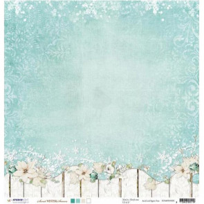 "StudioLight Dobbeltsidet Cardstock 12x12"" - Sweet Winter Season 3"