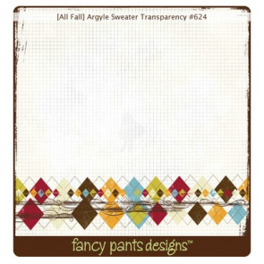 Fancy Pants Transparency - Argyle Sweater