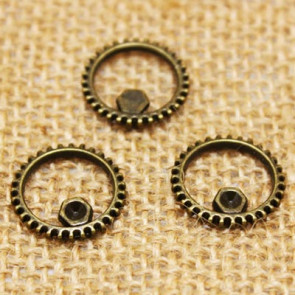 Findings Steampunk Gears 16mm - Antik Bronze