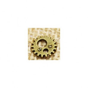 Findings Steampunk Gears 1,2 cm - Antik Bronze