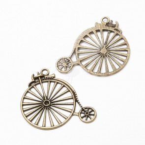 Beyond Visions Charms - Antique Bronze Væltepeter Cykel