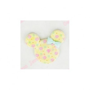 Resin Kawaii Minnie Hoved Gul