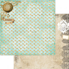 """Marion Smith Designs Nirvana Double-Sided Cardstock 12x12"""" - Cloud 9"""