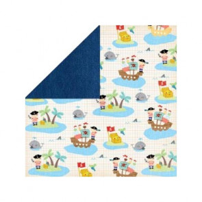 "Grace Taylor Playtime Paper 12x12"" - Pirates"
