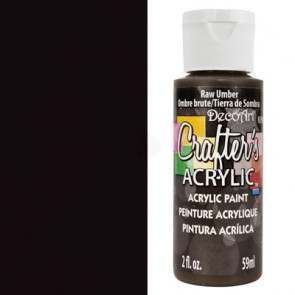 Crafter's Acrylic All Purpose Paint 59ml - Black