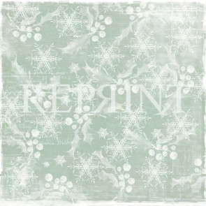 "Reprint Nordic Light 12x12"" Dobbeltsidet Scrapark White Christmas"
