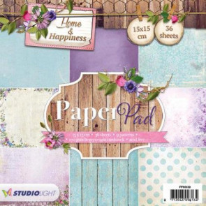 "StudioLight Home & Happiness 6x6"" Paper Pad - #39 TASTER"