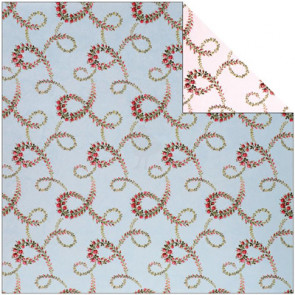 """Anna Griffin Camilla Double-Sided Cardstock 12x12"""" - Floral Vines"""