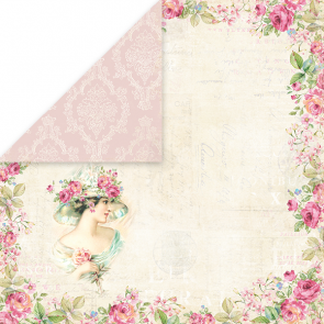 "Craft & You Scrapbooking Ark 12x12"" Bellissima Rosa 1"