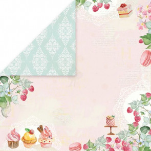 "Craft & You Scrapbooking Ark 12x12"" Sweet Dessert 6"