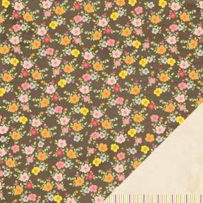 "American Crafts Dear Lizze Neapolitan Dobbeltsidet Cardstock 12x12"" - At First Sight"