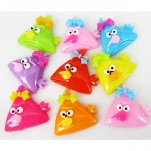 Resin Angry Bird - Hot Pink