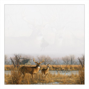 "Sugar Tree Papers 12x12"" - River Deer"