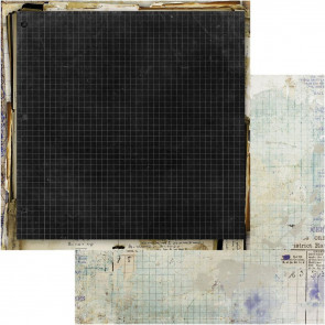 """49 and Market Old School Double-Sided Cardstock 12x12"""" Off The Grid"""