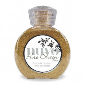 Nuvo Pure Sheen Glitter 100ml Gold