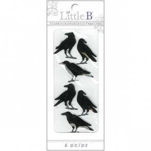 Little B Halloween Sticker - Crows