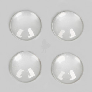 Beyond Visions Glas Cabochons 8mm, Rund