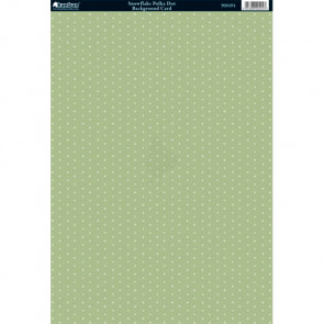 Kanban A4 Background Card - Snowflake Polka Dot
