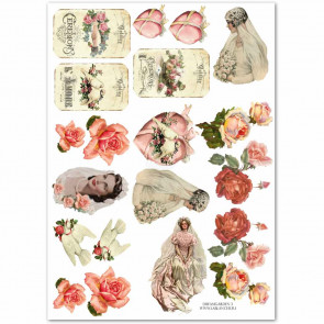 "LaBlanche CutOut Sheet ""Dream Garden 03"""