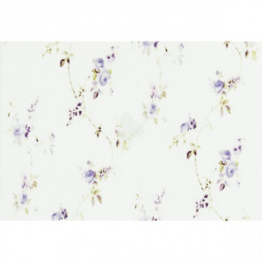 A5 Vellum / Wax paper - Purple Flower