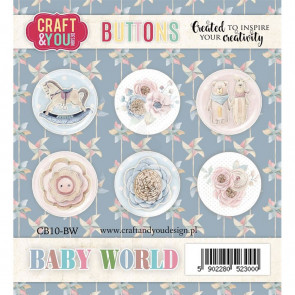 Craft & You Buttons Baby World