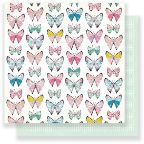 "Maggie Holmes Chasing Dreams Double-Sided Cardstock 12x12"" - Monarch"