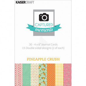 "KaiserCraft Captured Moments Themed Cards 4x6"" - Pineapple Crush TASTER"