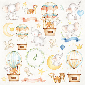 "Craft & You Scrapbooking Ark 12x12"" Baby Adventure 7"